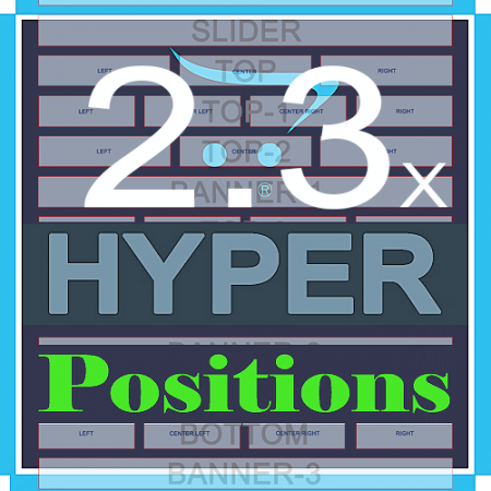 HYPER Positions +70 позиций модулей