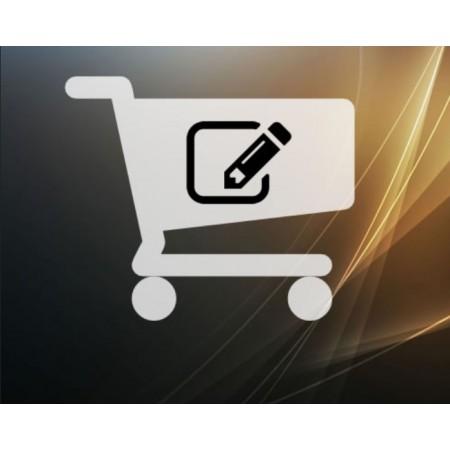 OrderPro Расширенный редактор заказа для oc2x - 3x